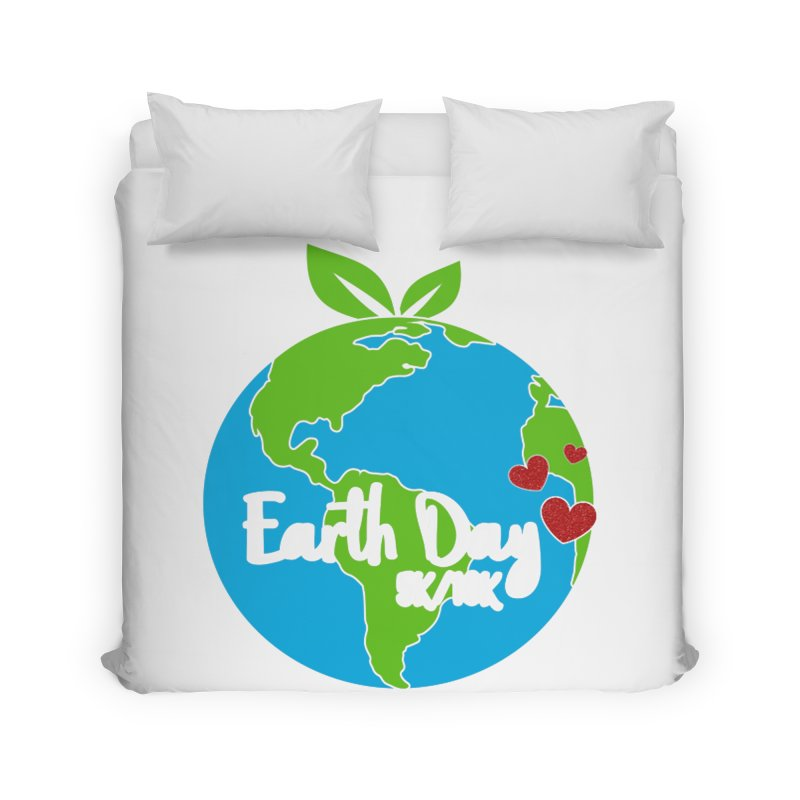 Earth Day 5K & 10K Home Duvet by moonjoggers's Artist Shop