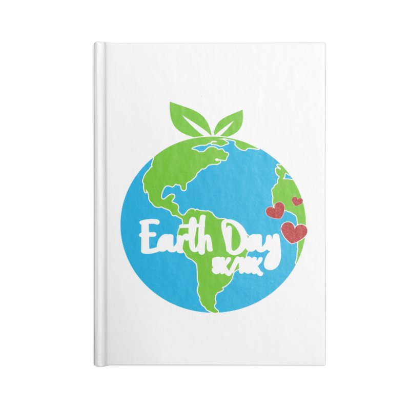 Earth Day 5K & 10K Accessories Notebook by moonjoggers's Artist Shop