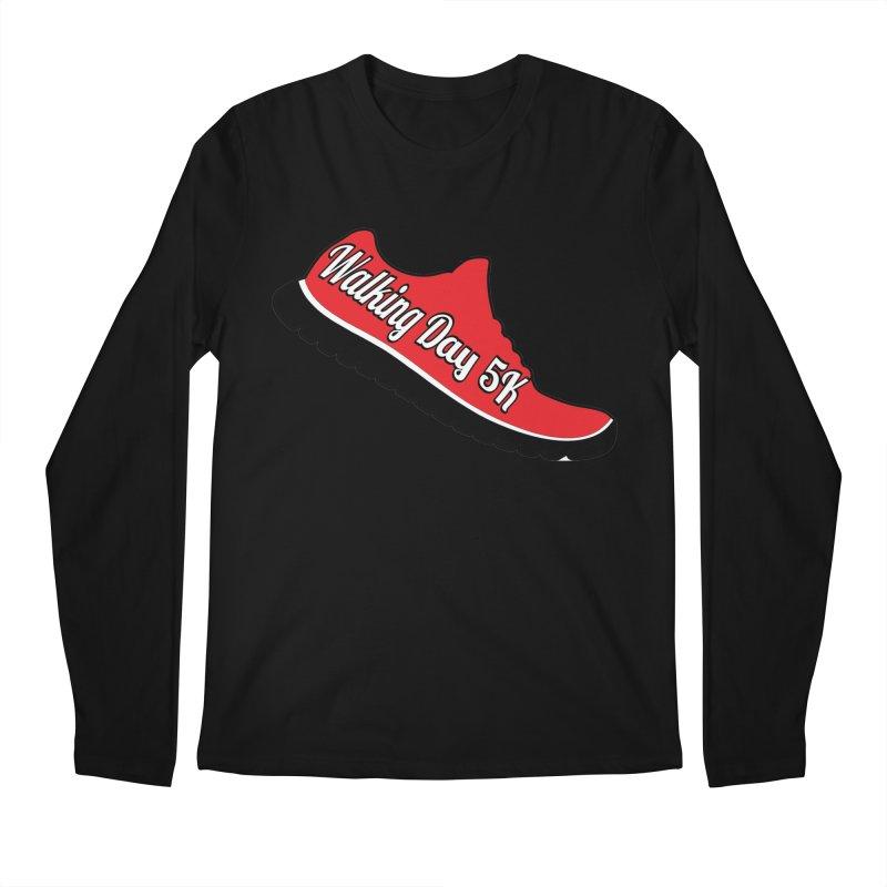 Walking Day 5K Men's Longsleeve T-Shirt by moonjoggers's Artist Shop