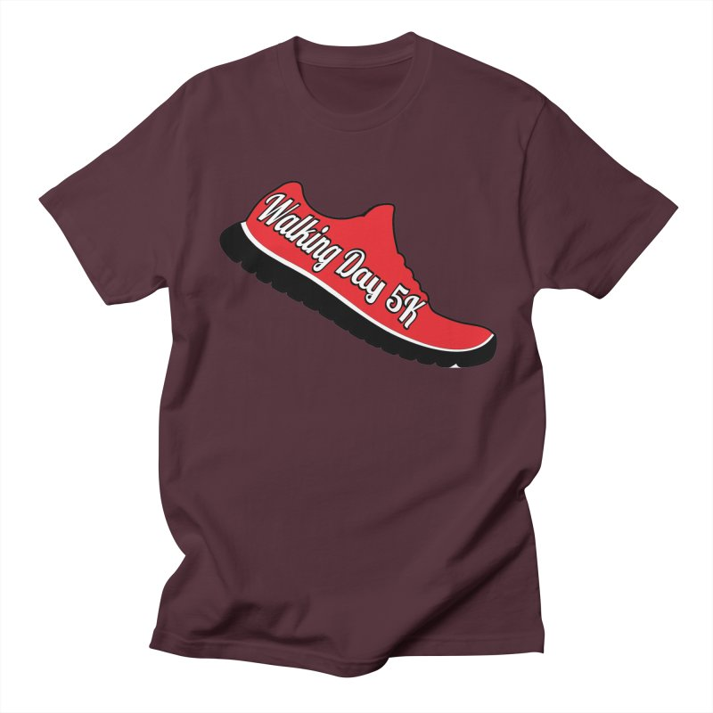 Walking Day 5K Women's Unisex T-Shirt by moonjoggers's Artist Shop