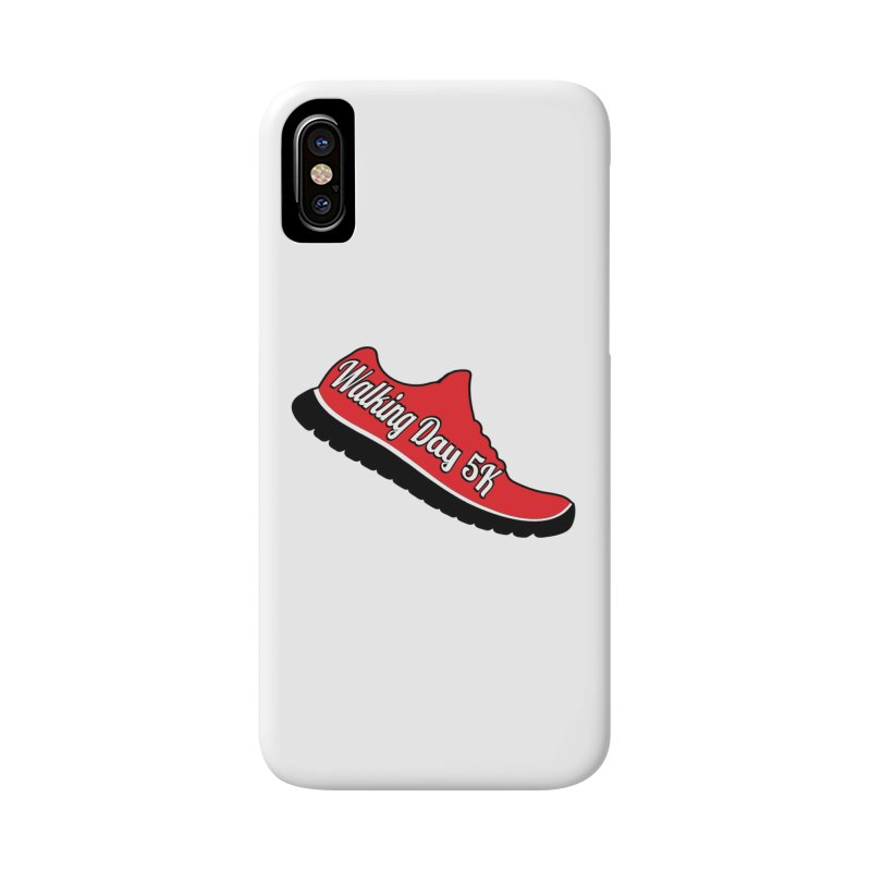 Walking Day 5K Accessories Phone Case by moonjoggers's Artist Shop