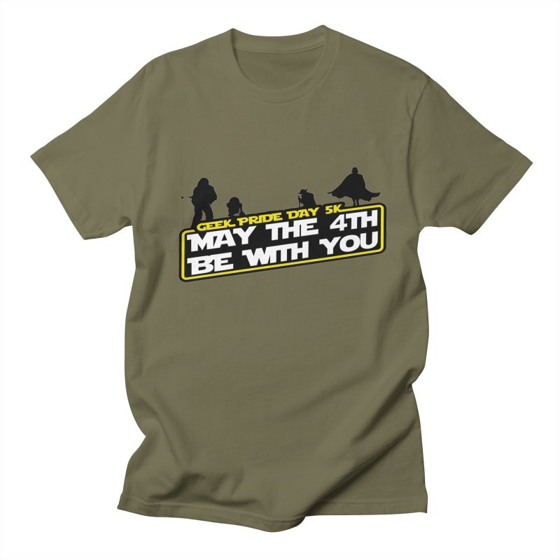 Geek Pride Day 5K: May the 4th Be With You Women's Unisex T-Shirt by moonjoggers's Artist Shop