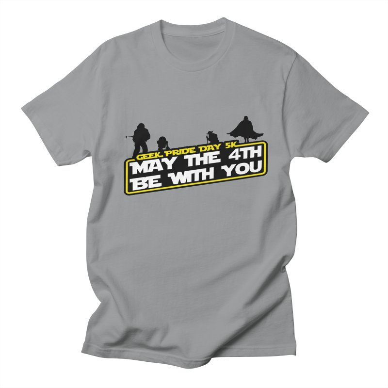 Geek Pride Day 5K: May the 4th Be With You Men's T-Shirt by moonjoggers's Artist Shop