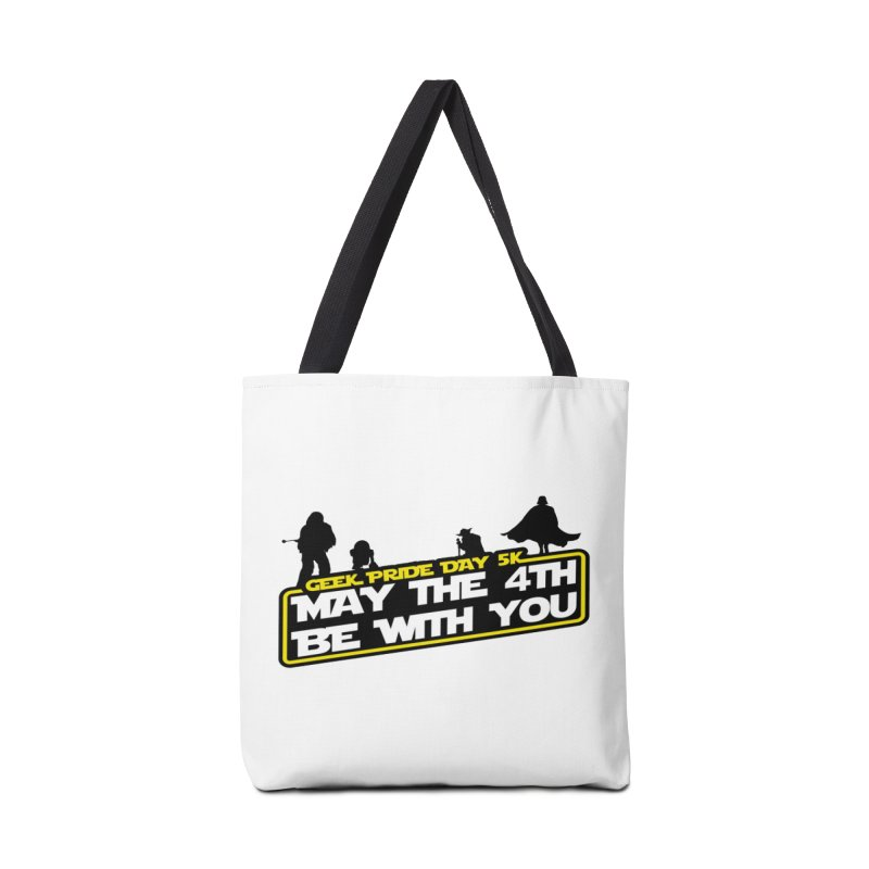 Geek Pride Day 5K: May the 4th Be With You Accessories Bag by moonjoggers's Artist Shop