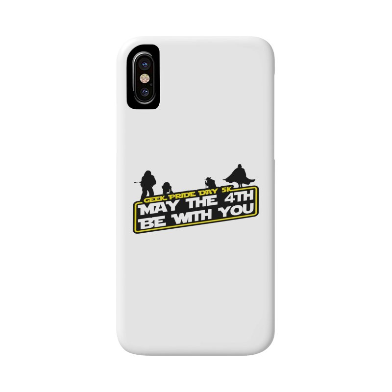 Geek Pride Day 5K: May the 4th Be With You Accessories Phone Case by moonjoggers's Artist Shop
