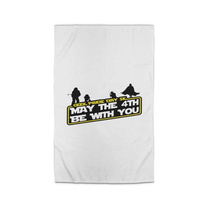 Geek Pride Day 5K: May the 4th Be With You Home Rug by moonjoggers's Artist Shop