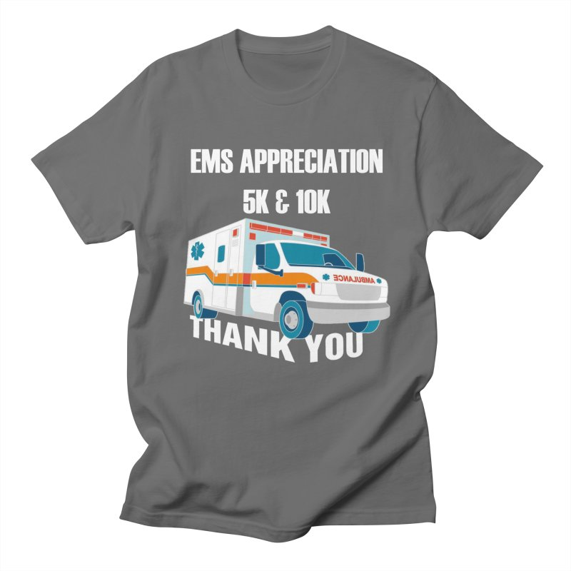 EMS Appreciation 5K & 10K Men's T-Shirt by Moon Joggers's Artist Shop