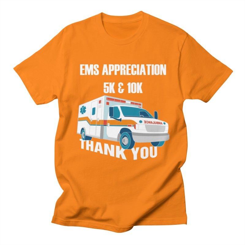 EMS Appreciation 5K & 10K Men's T-Shirt by Moon Joggers's Artist Shop
