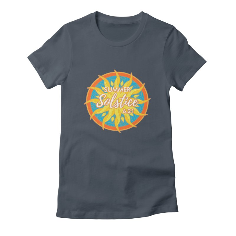 Summer Solstice 6.21 Women's T-Shirt by moonjoggers's Artist Shop