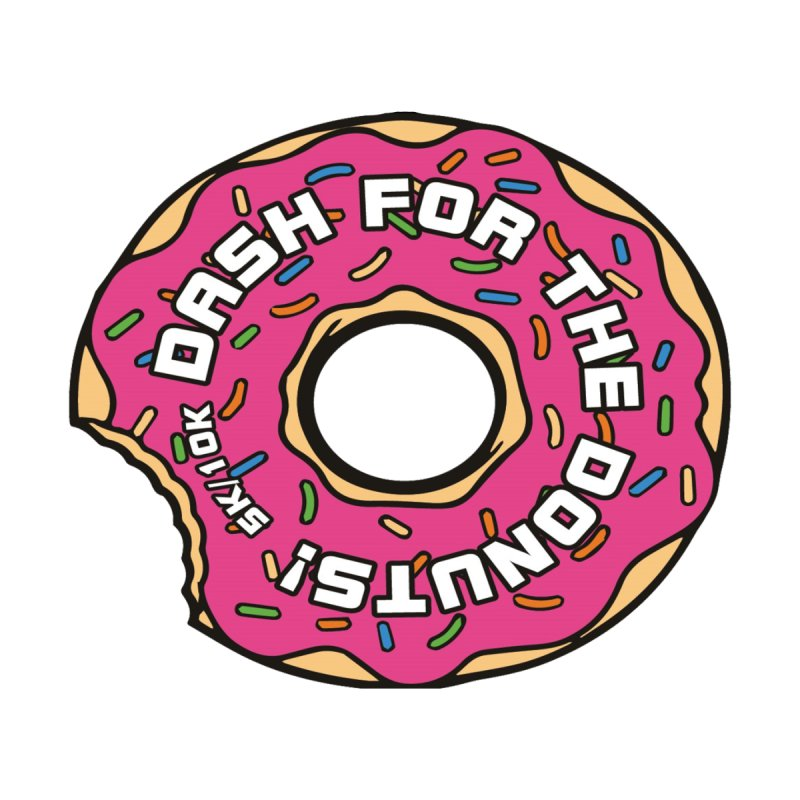 Dash for the Donuts 5K & 10K None  by moonjoggers's Artist Shop