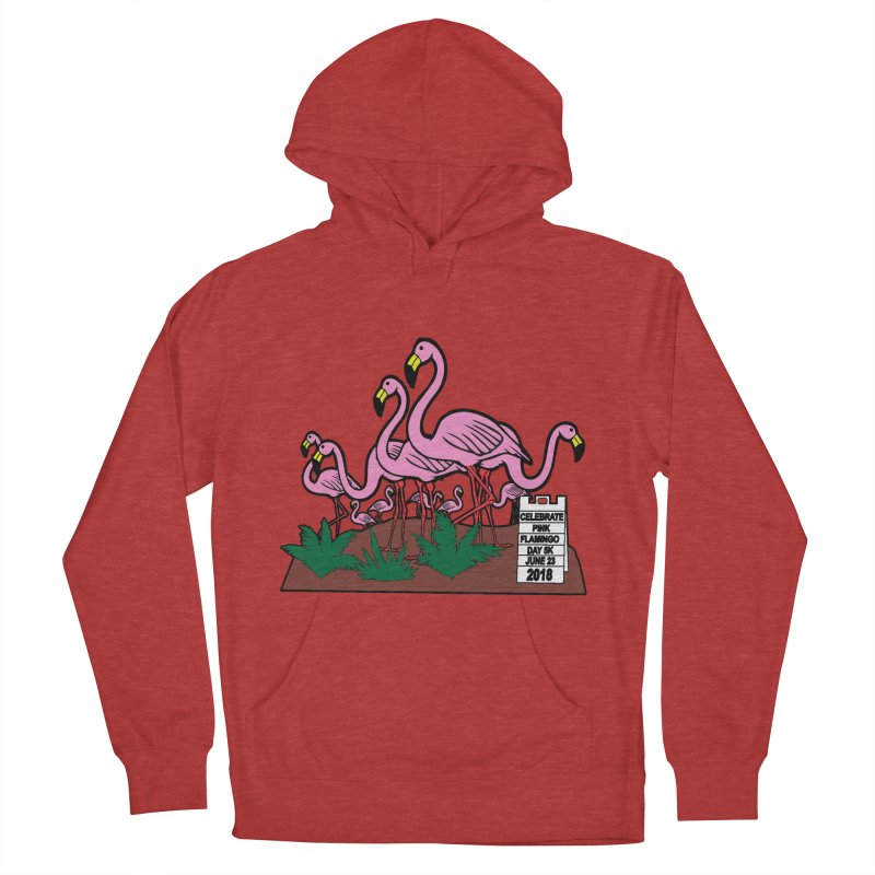 Flamingo Day 5K Men's Pullover Hoody by moonjoggers's Artist Shop