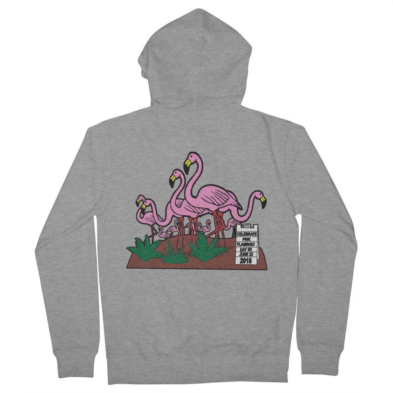 Flamingo Day 5K Women's Zip-Up Hoody by moonjoggers's Artist Shop