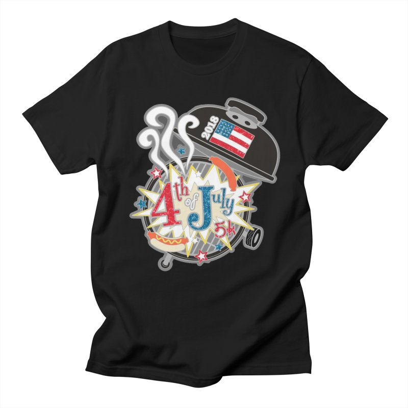 4th of July 5K Women's Unisex T-Shirt by moonjoggers's Artist Shop