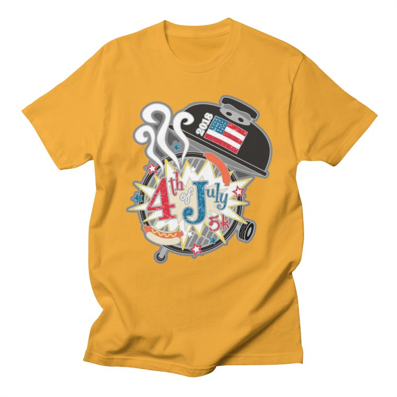 4th of July 5K Men's T-Shirt by moonjoggers's Artist Shop
