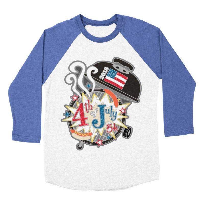 4th of July 5K Women's Baseball Triblend T-Shirt by moonjoggers's Artist Shop