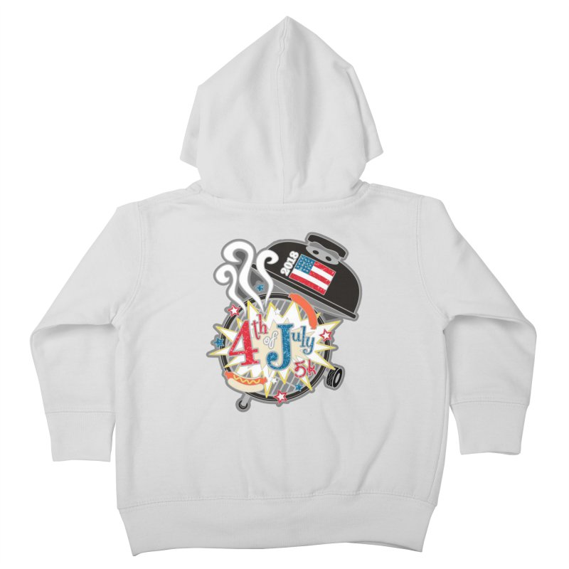 4th of July 5K Kids Toddler Zip-Up Hoody by moonjoggers's Artist Shop