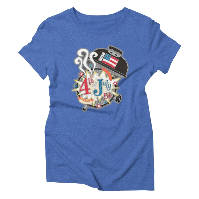 4th of July 5K Women's Triblend T-Shirt by moonjoggers's Artist Shop