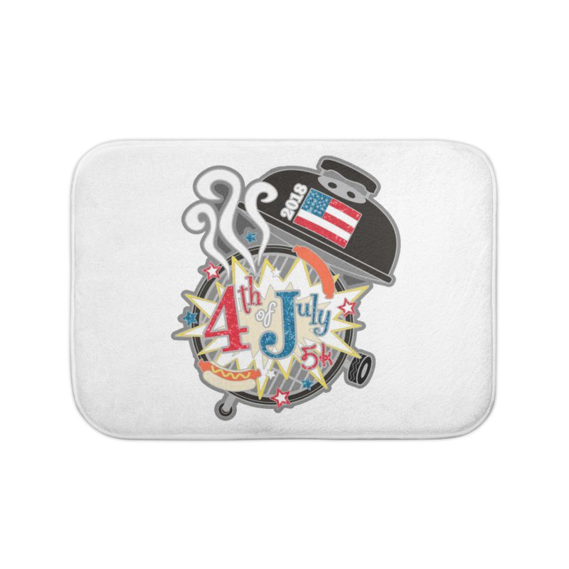 4th of July 5K Home Bath Mat by moonjoggers's Artist Shop