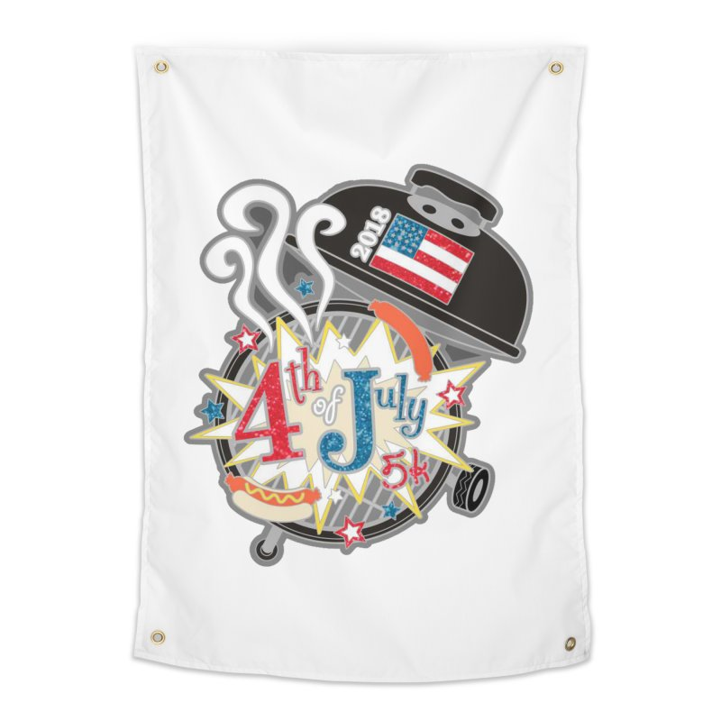 4th of July 5K Home Tapestry by moonjoggers's Artist Shop