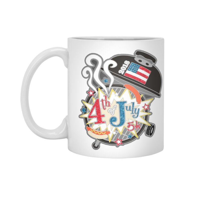 4th of July 5K Accessories Mug by moonjoggers's Artist Shop