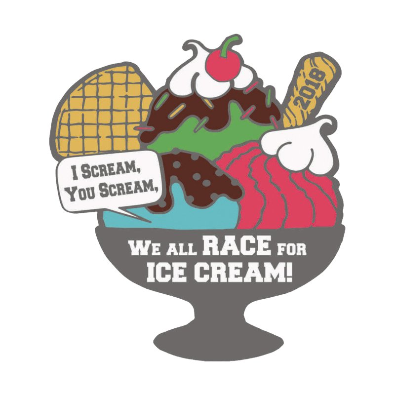 Ice Cream Day 5K None  by moonjoggers's Artist Shop