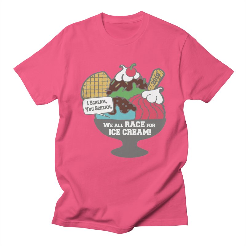 Ice Cream Day 5K Men's T-Shirt by moonjoggers's Artist Shop