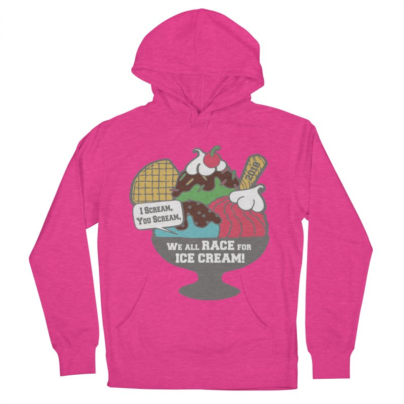 Ice Cream Day 5K Women's Pullover Hoody by moonjoggers's Artist Shop