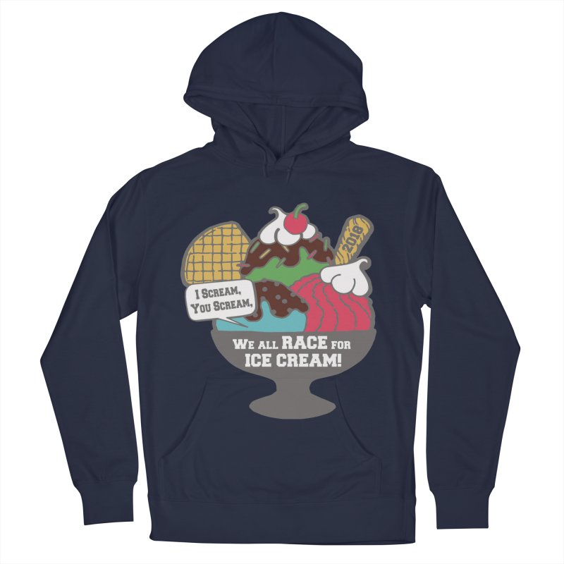 Ice Cream Day 5K Men's Pullover Hoody by moonjoggers's Artist Shop