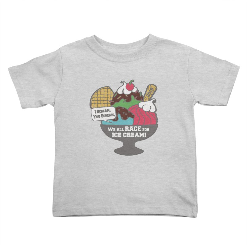 Ice Cream Day 5K Kids Toddler T-Shirt by moonjoggers's Artist Shop