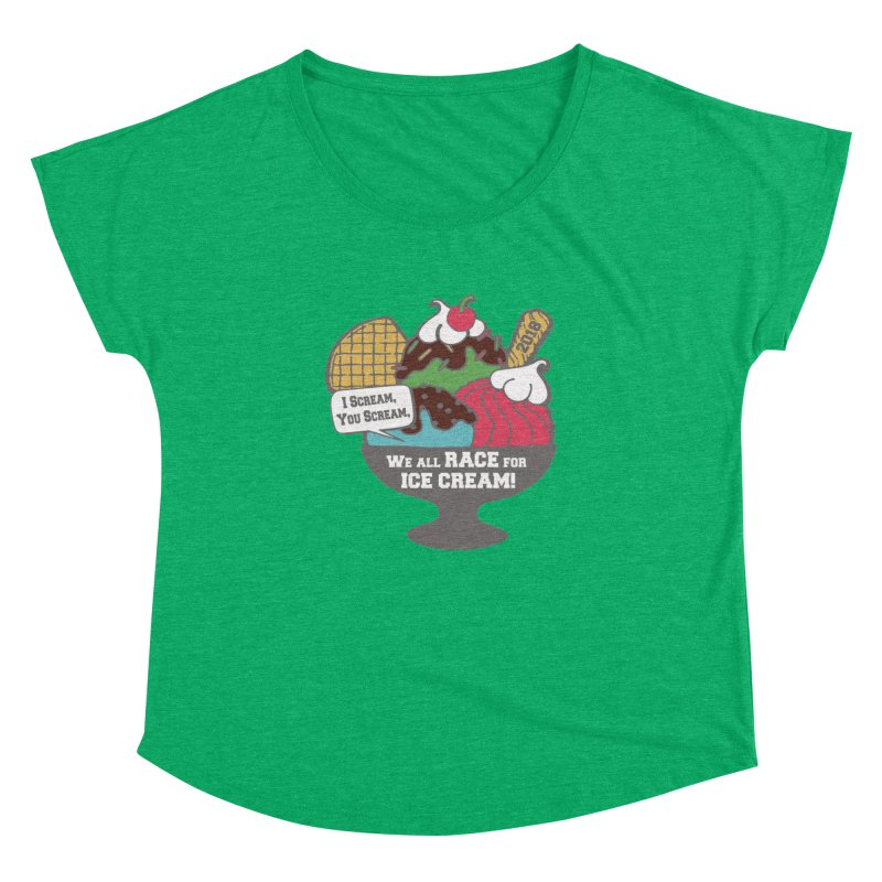 Ice Cream Day 5K Women's Dolman by moonjoggers's Artist Shop