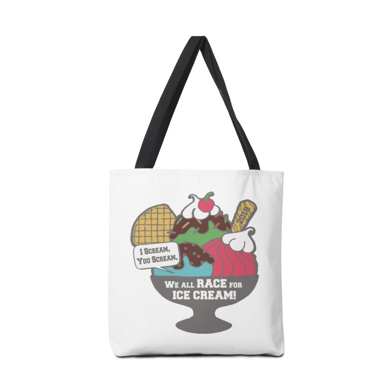 Ice Cream Day 5K Accessories Bag by moonjoggers's Artist Shop