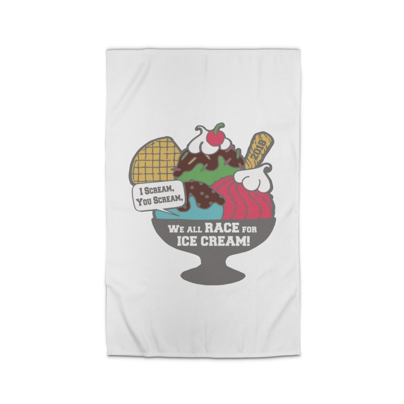 Ice Cream Day 5K Home Rug by moonjoggers's Artist Shop