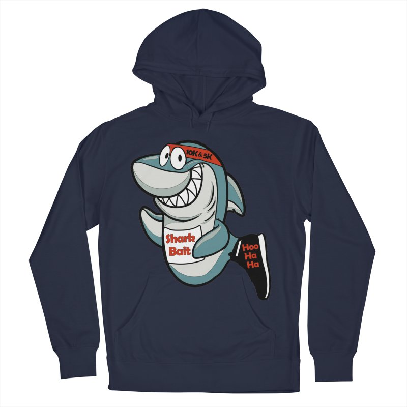 Shark Bait Hoo Ha Ha 5K & 10K Women's Pullover Hoody by moonjoggers's Artist Shop
