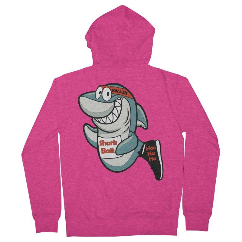 Shark Bait Hoo Ha Ha 5K & 10K Women's Zip-Up Hoody by moonjoggers's Artist Shop