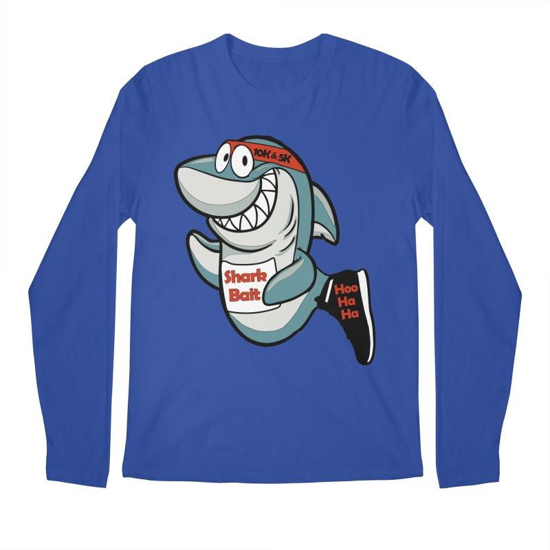 Shark Bait Hoo Ha Ha 5K & 10K Men's Longsleeve T-Shirt by moonjoggers's Artist Shop