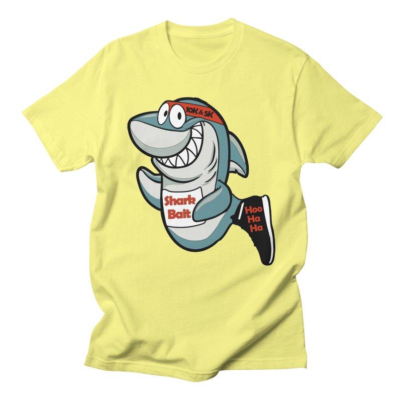 Shark Bait Hoo Ha Ha 5K & 10K Men's T-Shirt by moonjoggers's Artist Shop