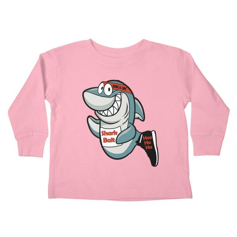 Shark Bait Hoo Ha Ha 5K & 10K Kids Toddler Longsleeve T-Shirt by moonjoggers's Artist Shop