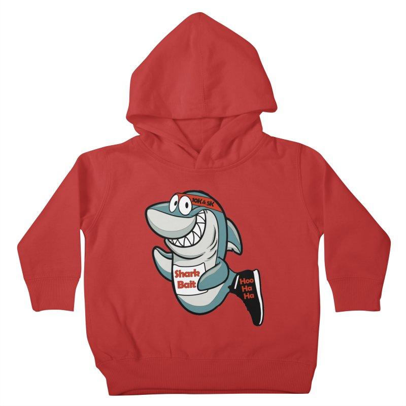 Shark Bait Hoo Ha Ha 5K & 10K Kids Toddler Pullover Hoody by moonjoggers's Artist Shop