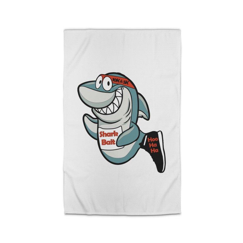Shark Bait Hoo Ha Ha 5K & 10K Home Rug by moonjoggers's Artist Shop