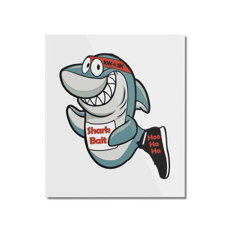 Shark Bait Hoo Ha Ha 5K & 10K Home Mounted Acrylic Print by moonjoggers's Artist Shop