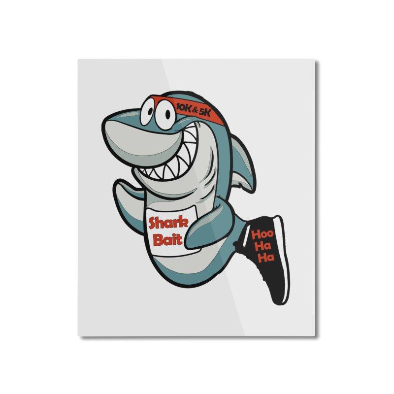 Shark Bait Hoo Ha Ha 5K & 10K Home Mounted Aluminum Print by moonjoggers's Artist Shop