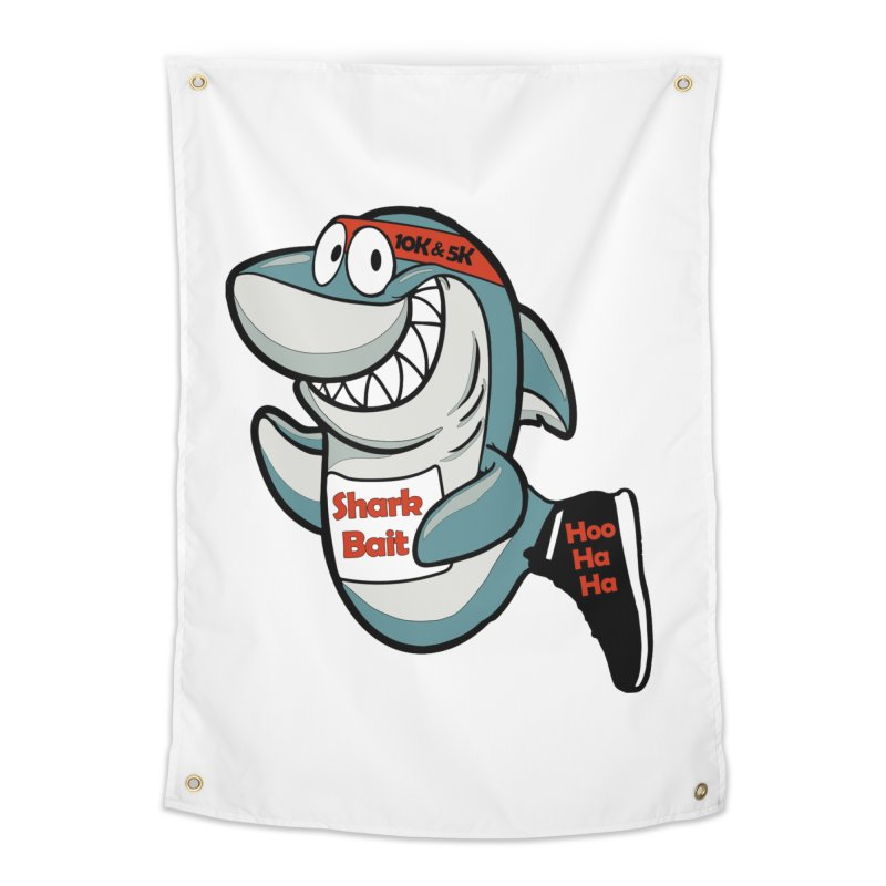 Shark Bait Hoo Ha Ha 5K & 10K Home Tapestry by moonjoggers's Artist Shop