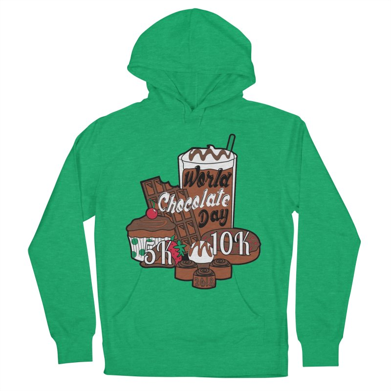 World Chocolate Day 5K & 10K! Women's Pullover Hoody by moonjoggers's Artist Shop