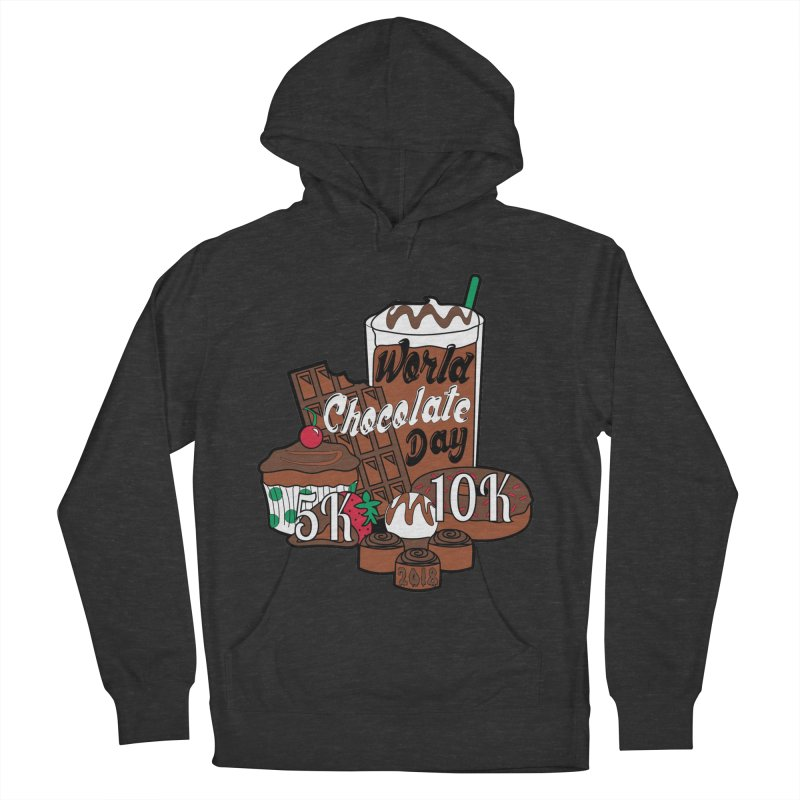 World Chocolate Day 5K & 10K! Men's Pullover Hoody by moonjoggers's Artist Shop