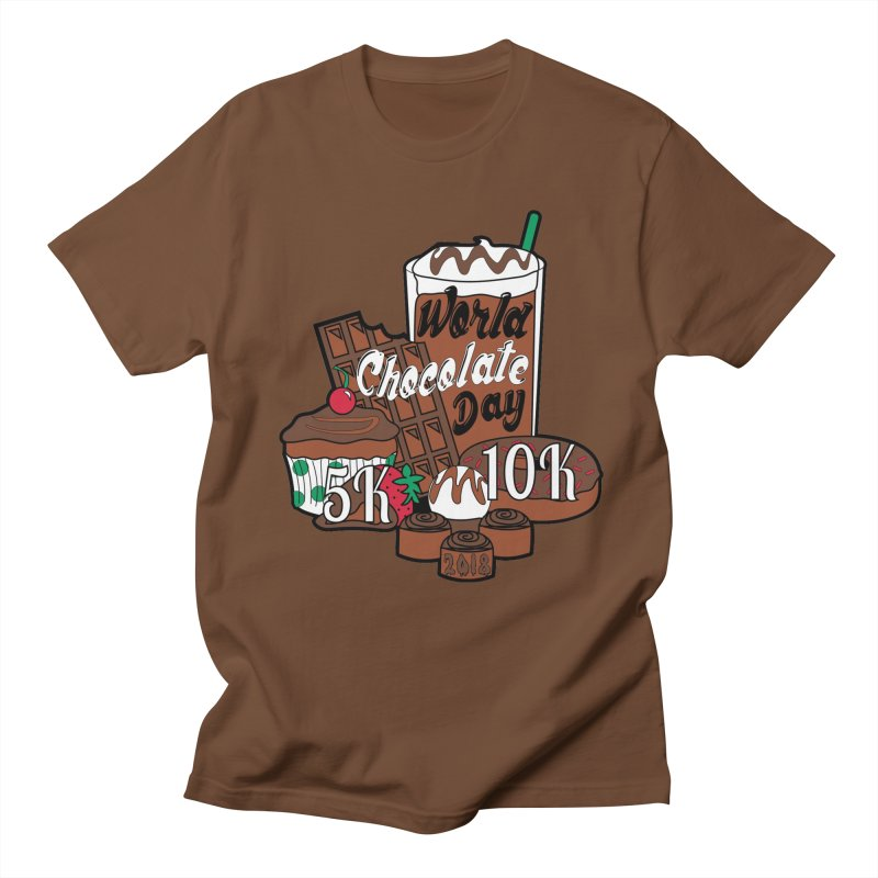 World Chocolate Day 5K & 10K! Men's T-Shirt by moonjoggers's Artist Shop