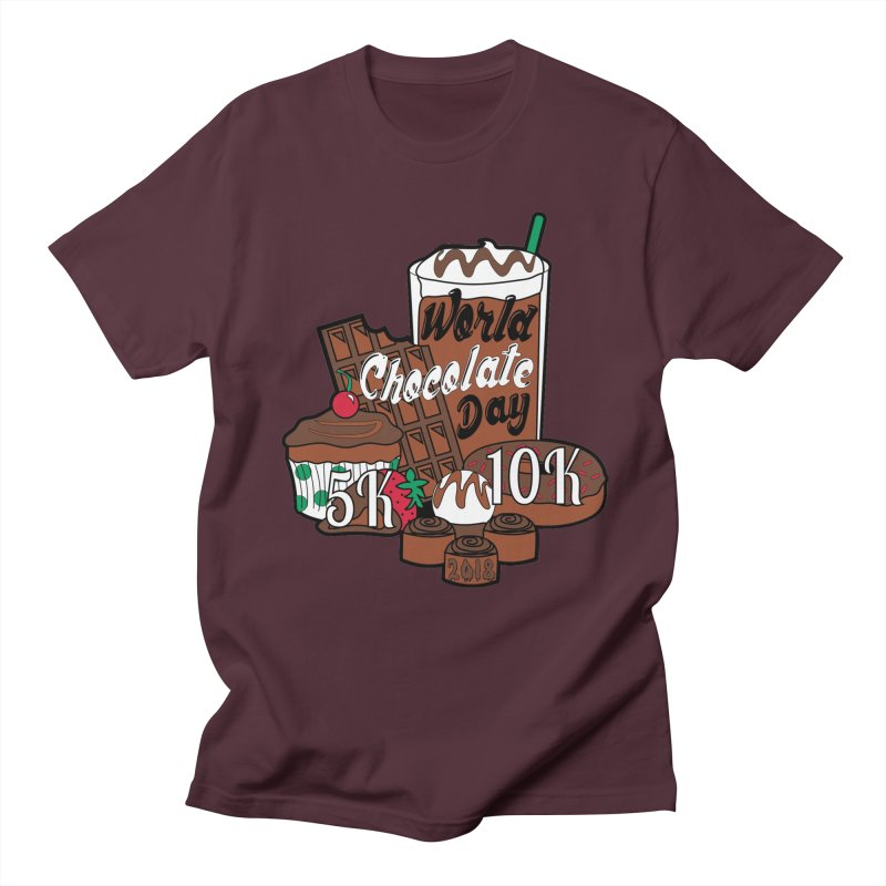 World Chocolate Day 5K & 10K! Women's Unisex T-Shirt by moonjoggers's Artist Shop