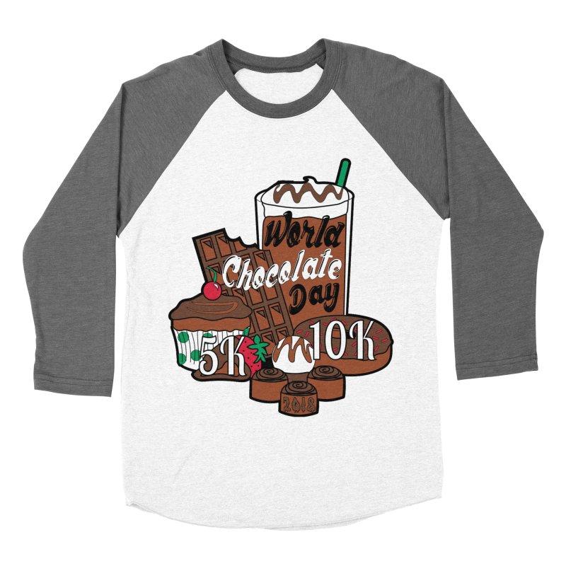 World Chocolate Day 5K & 10K! Women's Baseball Triblend T-Shirt by moonjoggers's Artist Shop