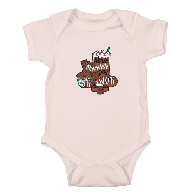World Chocolate Day 5K & 10K! Kids Baby Bodysuit by moonjoggers's Artist Shop