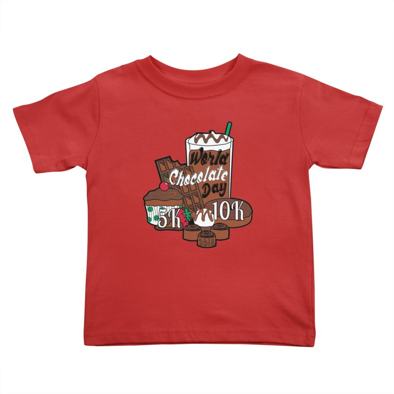 World Chocolate Day 5K & 10K! Kids Toddler T-Shirt by moonjoggers's Artist Shop