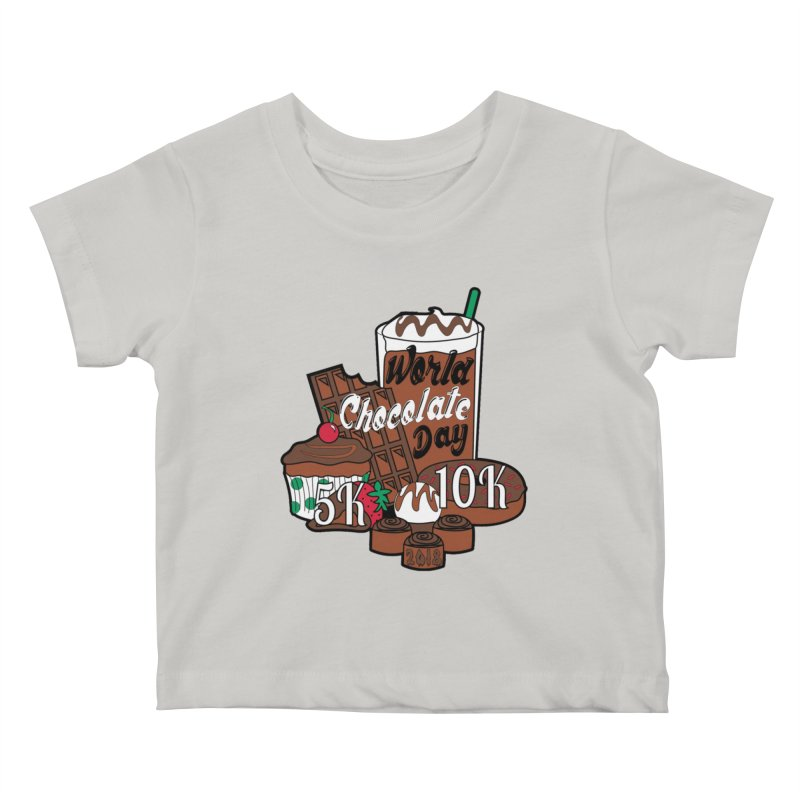 World Chocolate Day 5K & 10K! Kids Baby T-Shirt by moonjoggers's Artist Shop